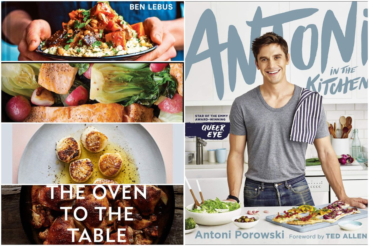 5 cookbooks for great weeknight dinners (including one from a 'Queer Eye' guy)