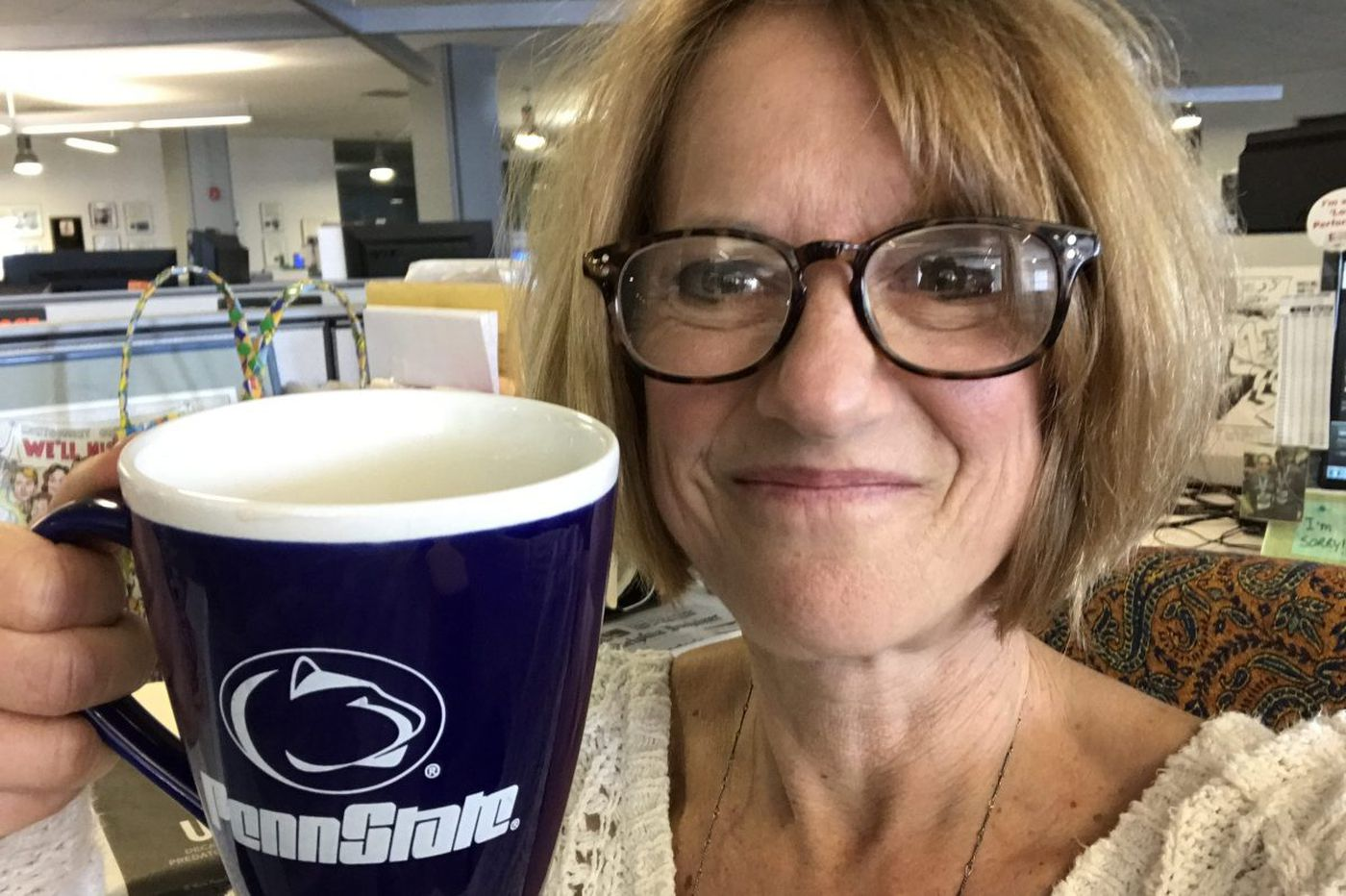 Why this Nittany Lion puts up with a Buckeye's abuse