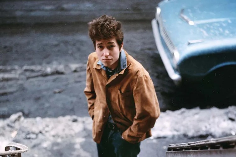 """Bob Dylan from the """"No Direction Home"""" film by Martin Scorsese. Photo credit: Don Hunstein"""