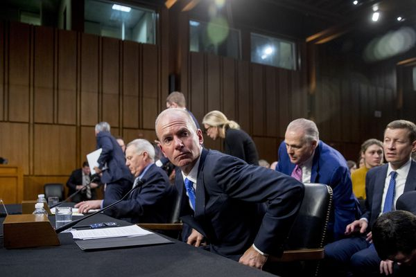 Boeing chief at Senate 737 Max hearing: 'We made mistakes'