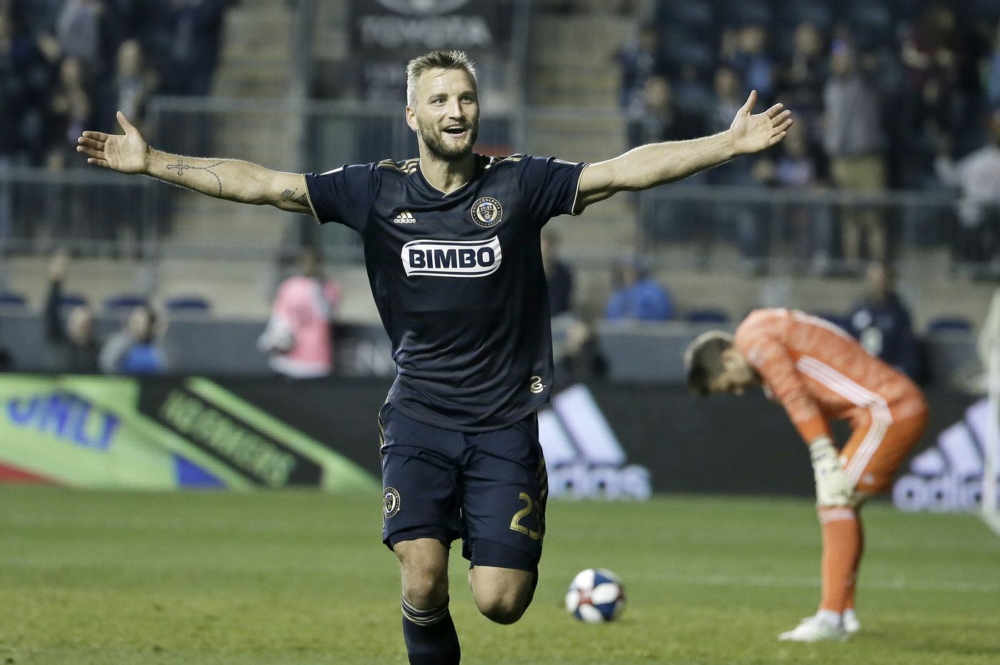 Union's Kacper Przybylko is over late-season injury, but not over missing the playoffs