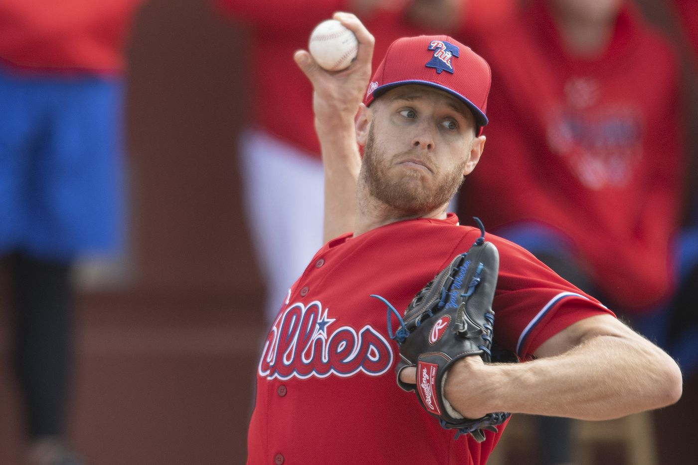 Phillies pitcher Zack Wheeler said his status for the season is uncertain as he awaits birth of child