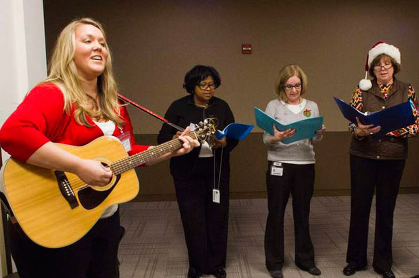 Fox Chase employees sing, soothing patients and themselves
