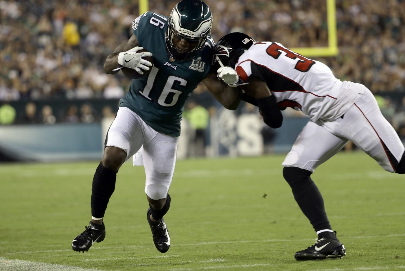 Problems on the receiving end? Eagles might need to shuffle wideouts