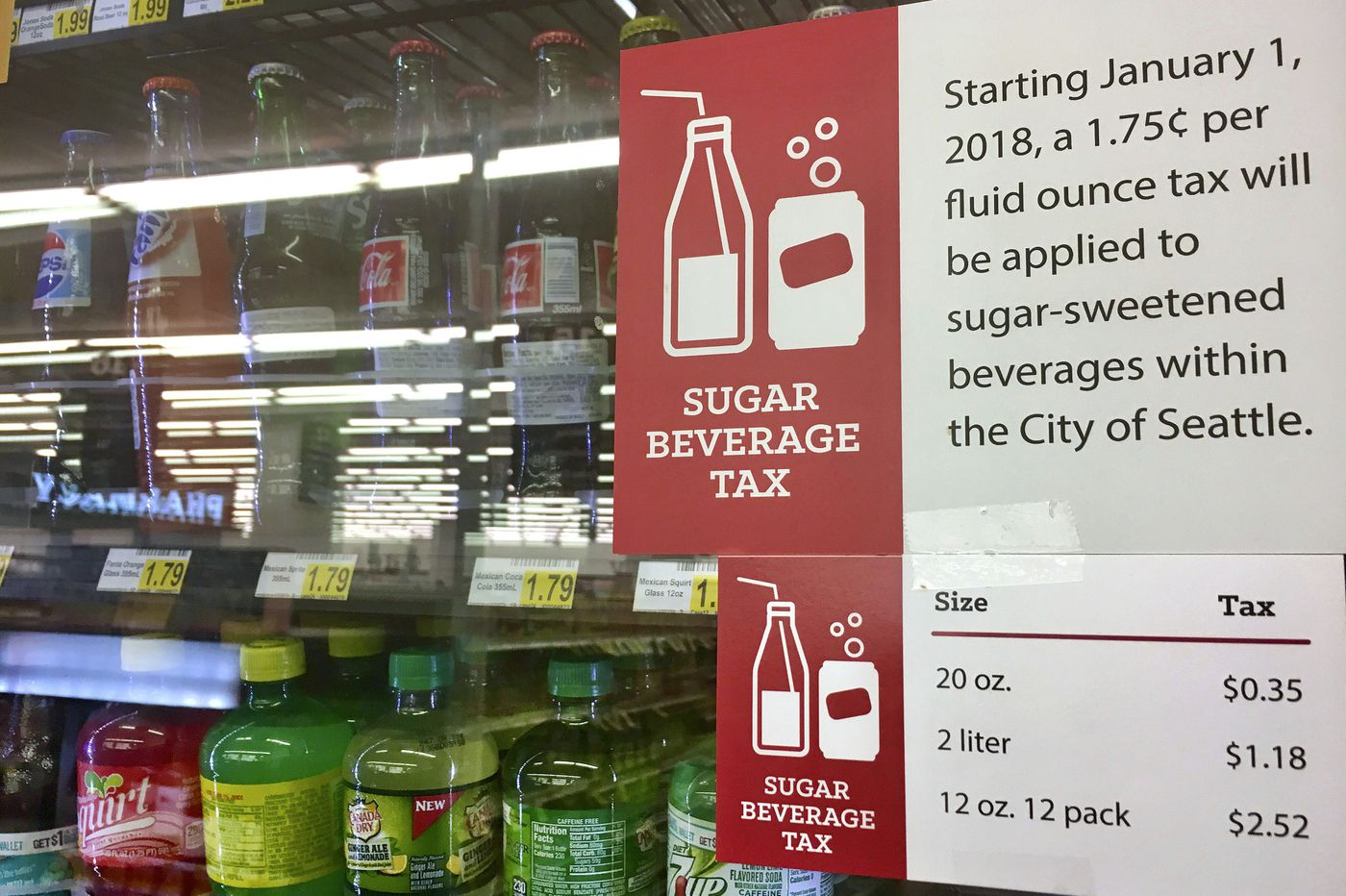 Will fights over soda taxes in other states impact Philly?