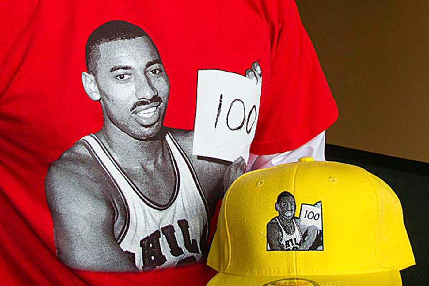 Line of Wilt Chamberlain apparel aims to cash in on his outsize legend