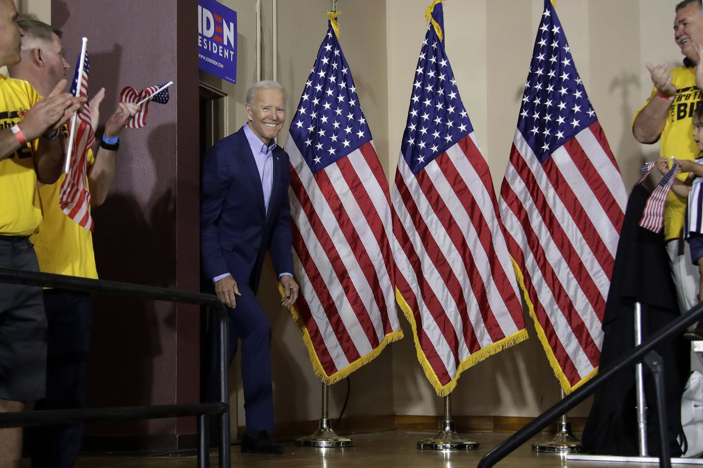 With an opening rally in Pittsburgh, Joe Biden signals that Pennsylvania is vital to his campaign