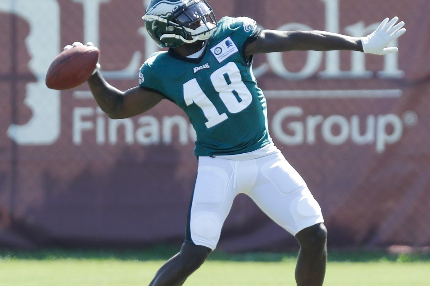 Jalen Reagor off to fast start, Dallas Goedert active, and more Eagles camp observations