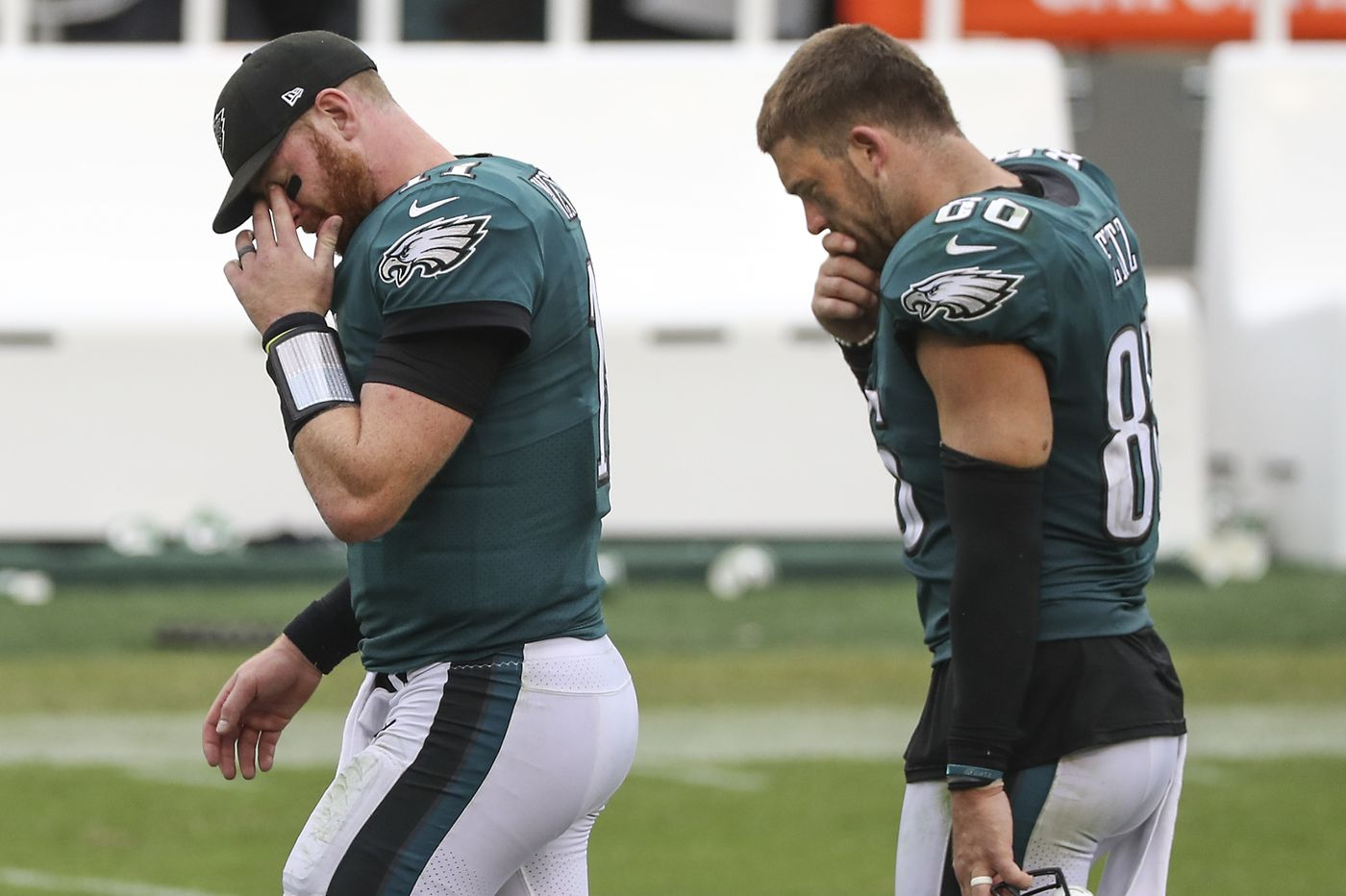 Eagles punt on chance to win, play for a 23-23 tie with winless Bengals. Is this as low as they can go?