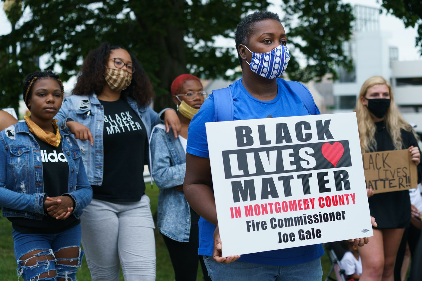 A Montco Republican commissioner called Black Lives Matter a 'hate group.' Now he's more isolated than ever.