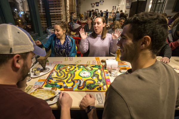 My utterly strange night at Philly's first board-game bar, Thirsty Dice