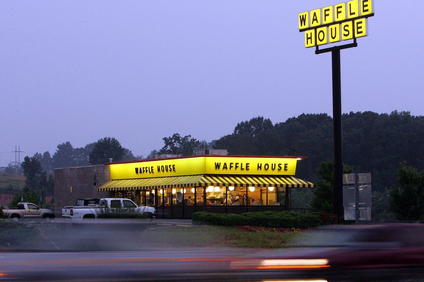 Customers jump in to help Waffle House keep up with orders