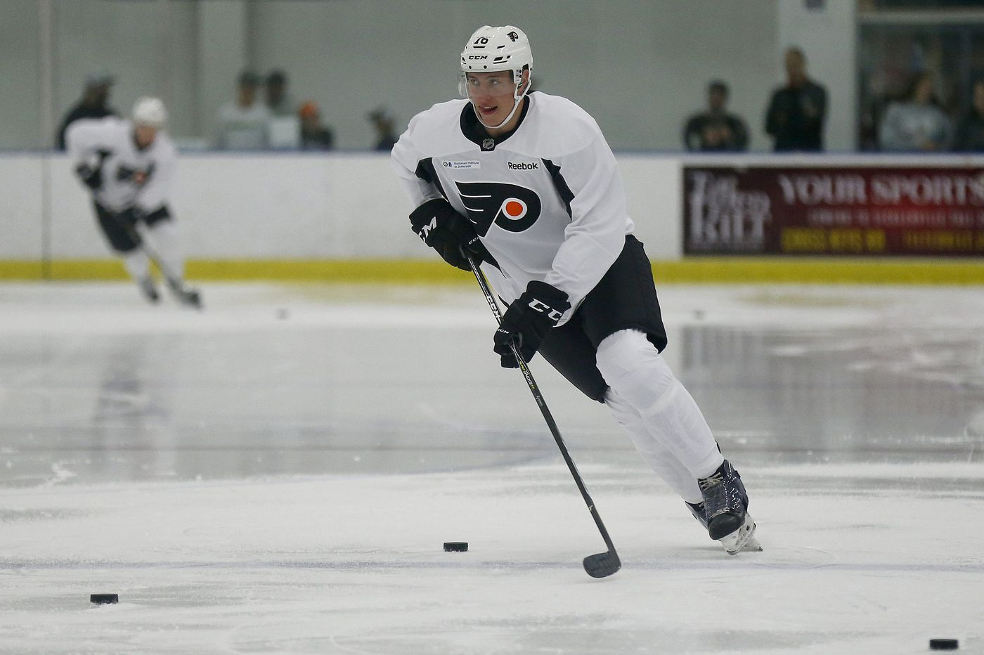 A gazelle no longer, Isaac Ratcliffe drops hints about his future with the Flyers