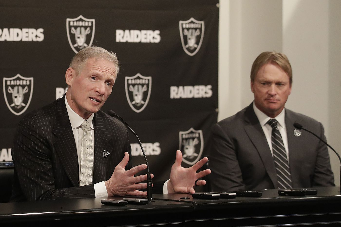 After 15 years as a 'lone ranger' with the NFL Network, Philly native Mike Mayock has 'skin in the game' as Raiders GM