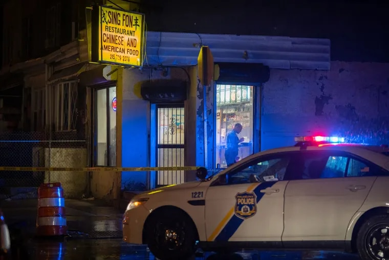 Police investigate the 1900 block of South 56th Street where a 16-year-old boy was shot multiple times.