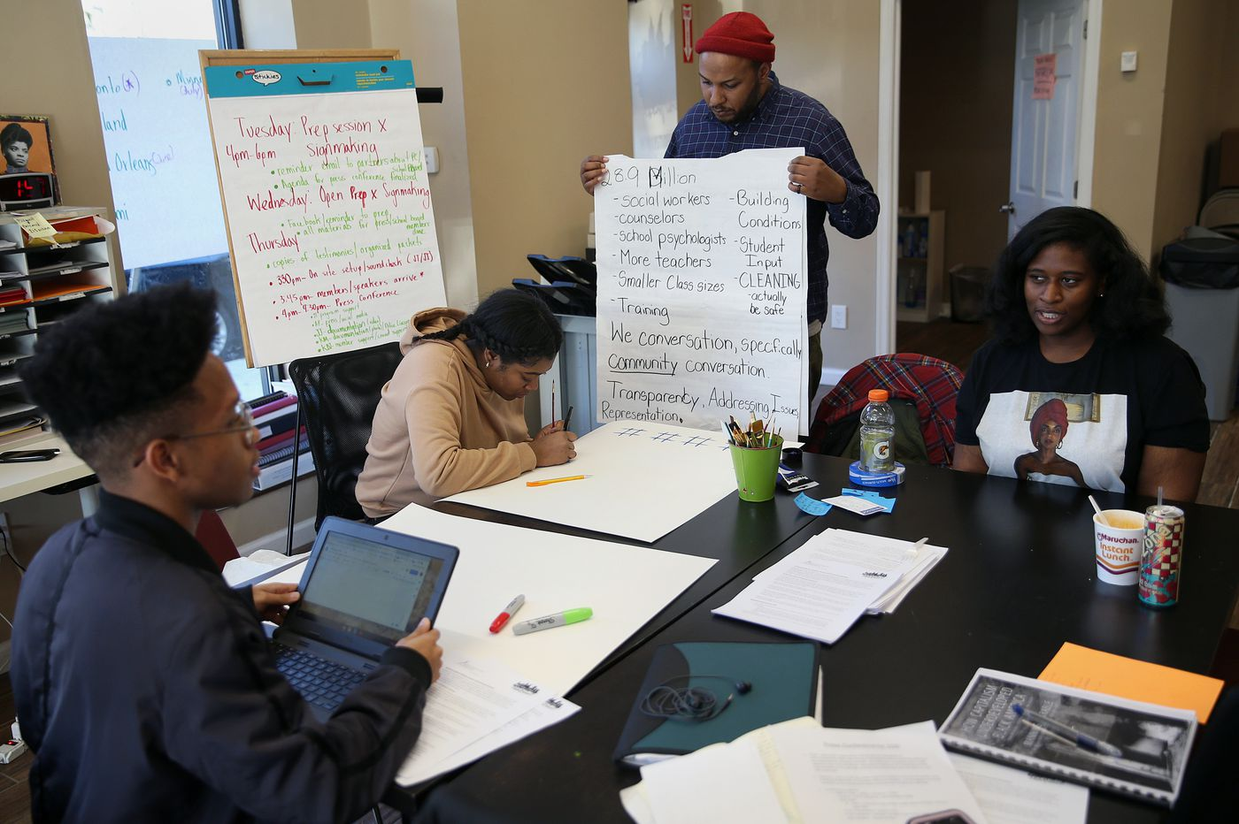 Understanding Shut Down Learners >> Activists Shut Down Meeting After School Board Votes To Mandate