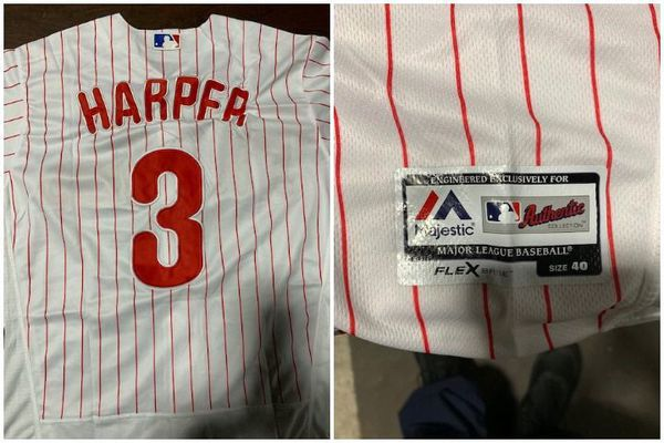 Out at the plate: Customs agents seize fake Bryce Harper jerseys