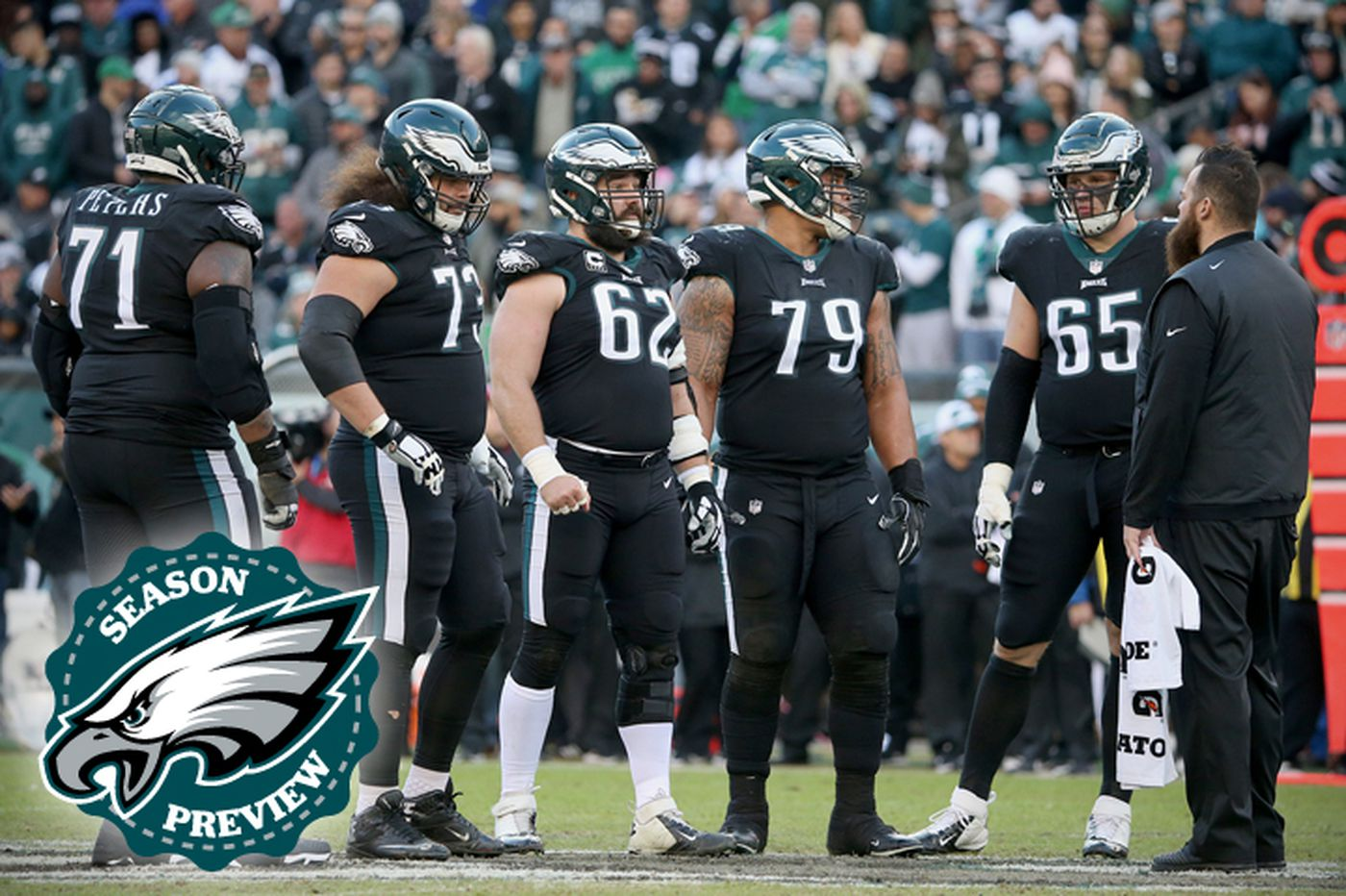 The Eagles offensive line may be elite, but it's behind schedule — just like last year | Marcus Hayes