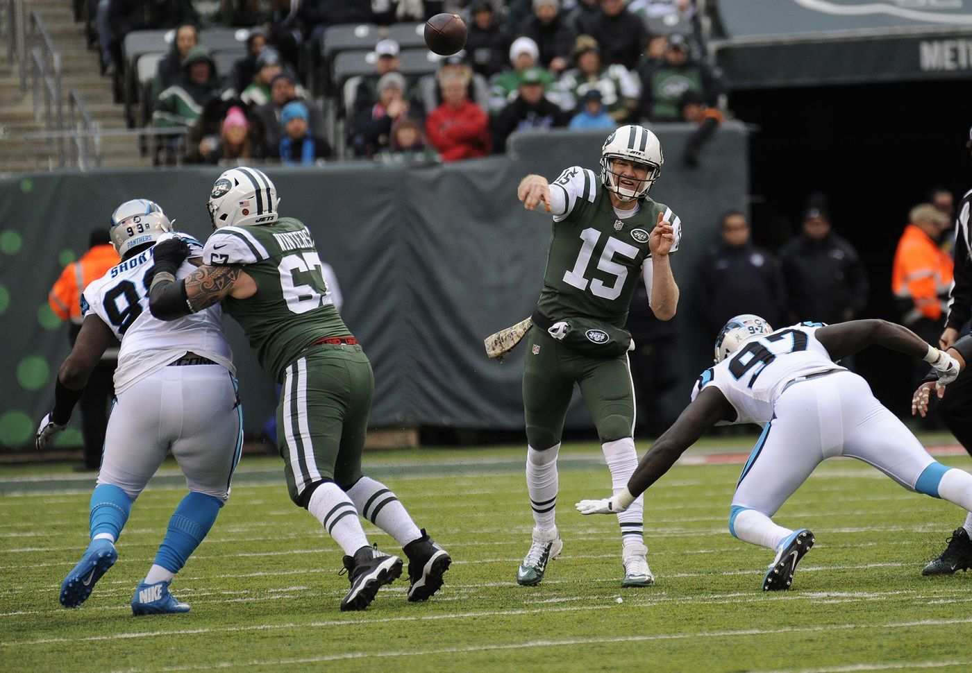 b6a096db Eagles' backup plan turns out to be Josh McCown, and their QB room ...