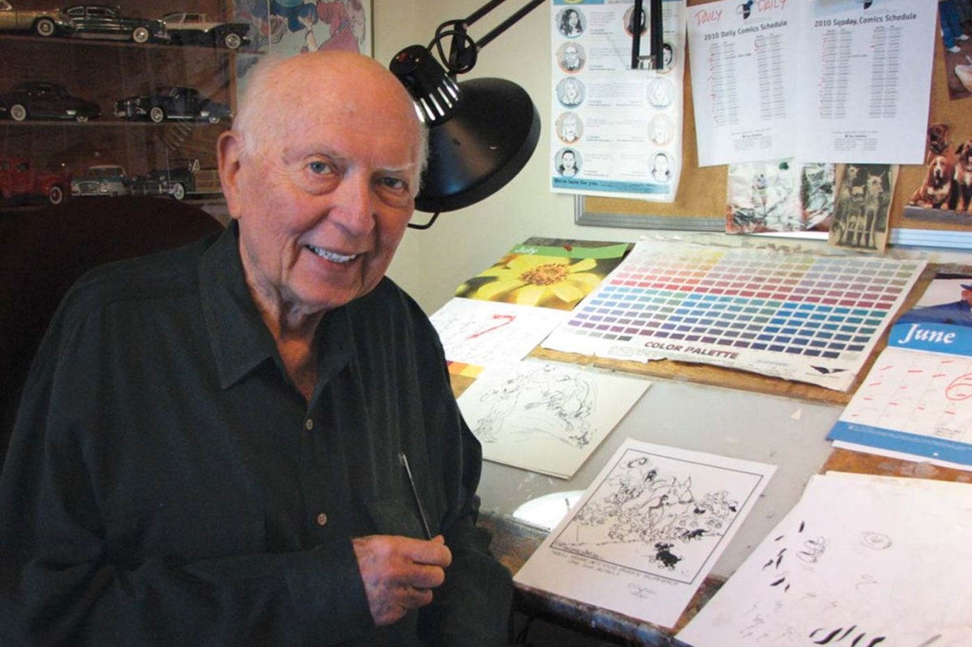 Brad Anderson, creator of 'Marmaduke,' dies at 91