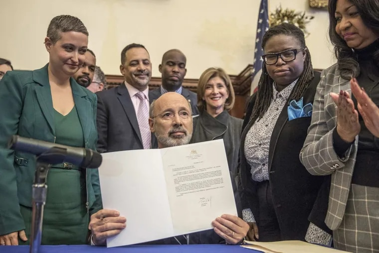 Pennsylvania Gov. Tom Wolf in 2017 vetoed legislation that would ban abortion after 20 weeks.
