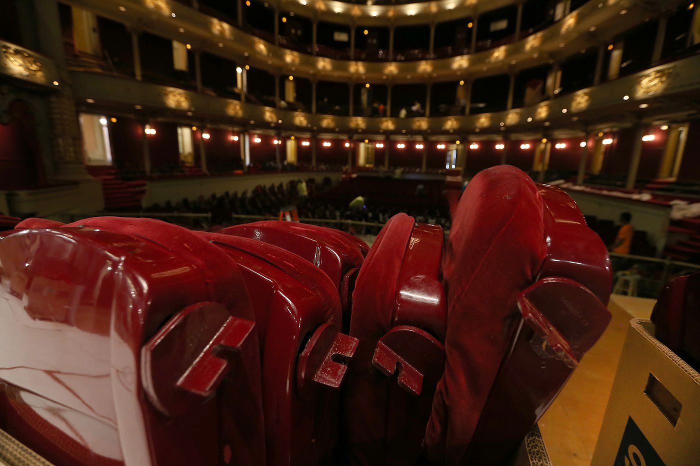 Academy of Music is replacing its lumpy old seats — and, no, you're not getting cup holders