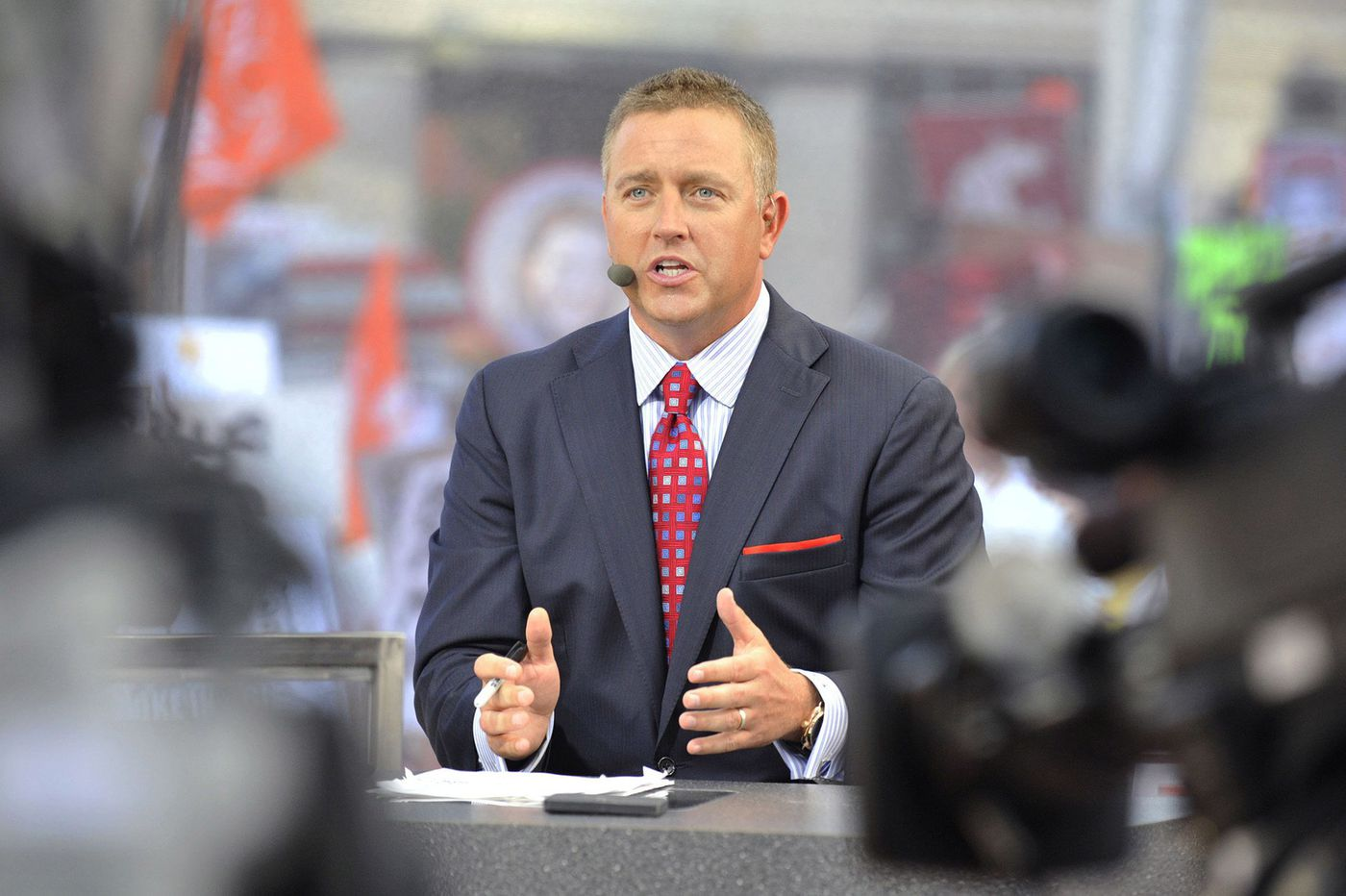 ESPN's College GameDay crew excited to be back at Penn State for annual 'White Out' game