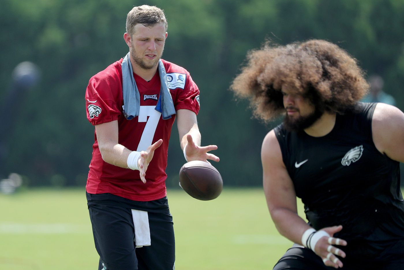 Nate Sudfeld ascends to No. 1 QB for now with Nick Foles and Carson Wentz sidelined