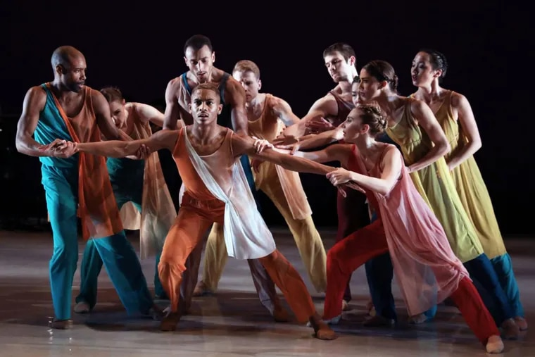 BalletX, which won a Barra Award, performing at the Wilma Theater.