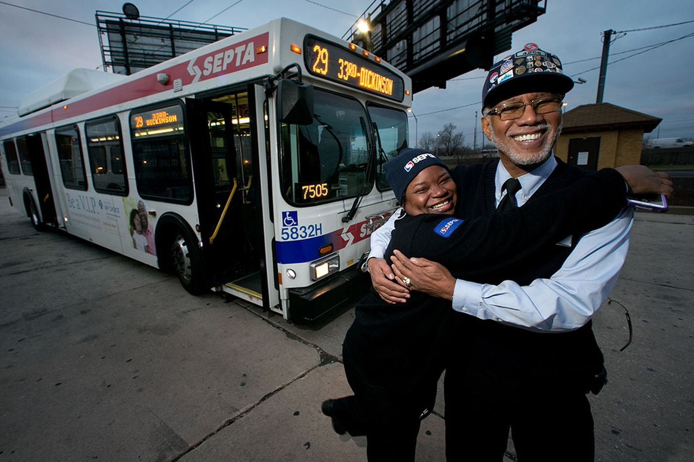 "Beloved SEPTA bus driver Eugene ""Smitty"" Smith retires"
