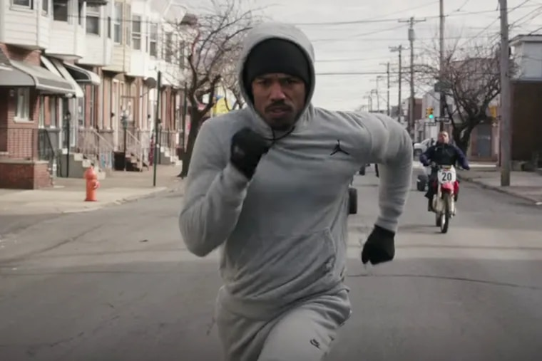 """Philly, just like they pictured it: Michael B. Jordan in """"Creed."""" The movie leaves the impression that the city is still the dysfunctional, hard-luck place depicted in its 1976 inspiration, """"Rocky."""""""