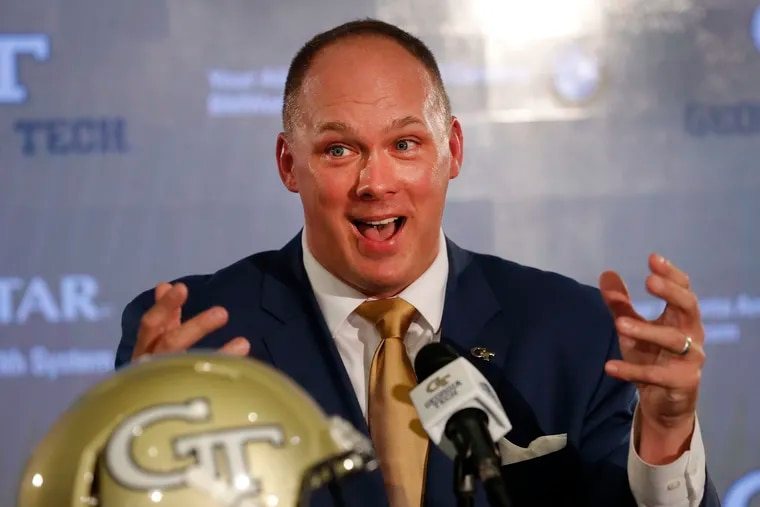 Georgia Tech football coach Geoff Collins continues to lure his former assistants away from Temple.