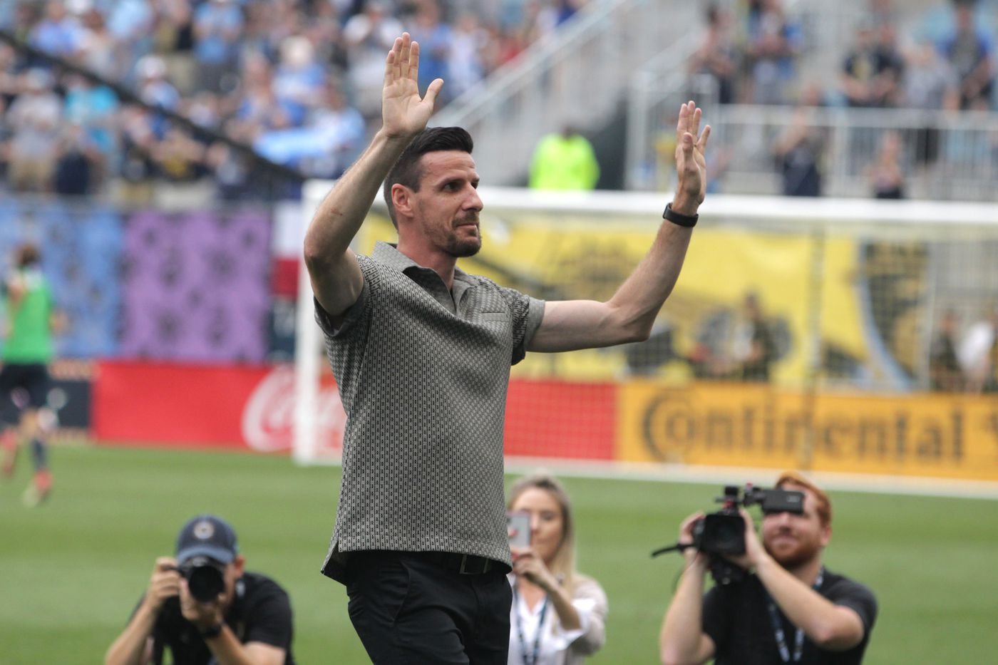 Sébastien Le Toux is 'here forever' with Union ring of honor induction