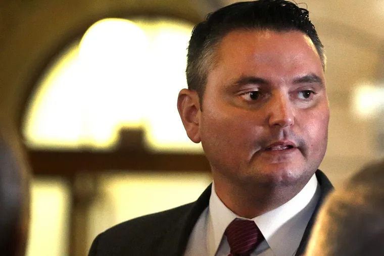 Pennsylvania state Rep. Nick Miccarelli (R,Delaware) is facing #metoo accusations by two women, including a Republican lawmaker. FRED ADAMS / For the Inquirer