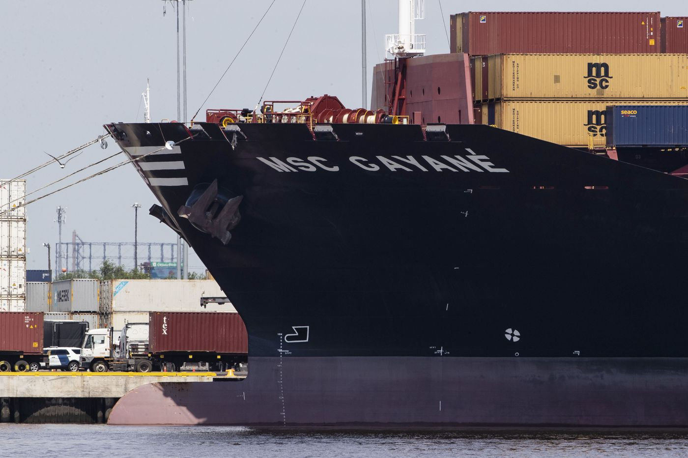 US Customs seizes ship where huge cocaine load was found