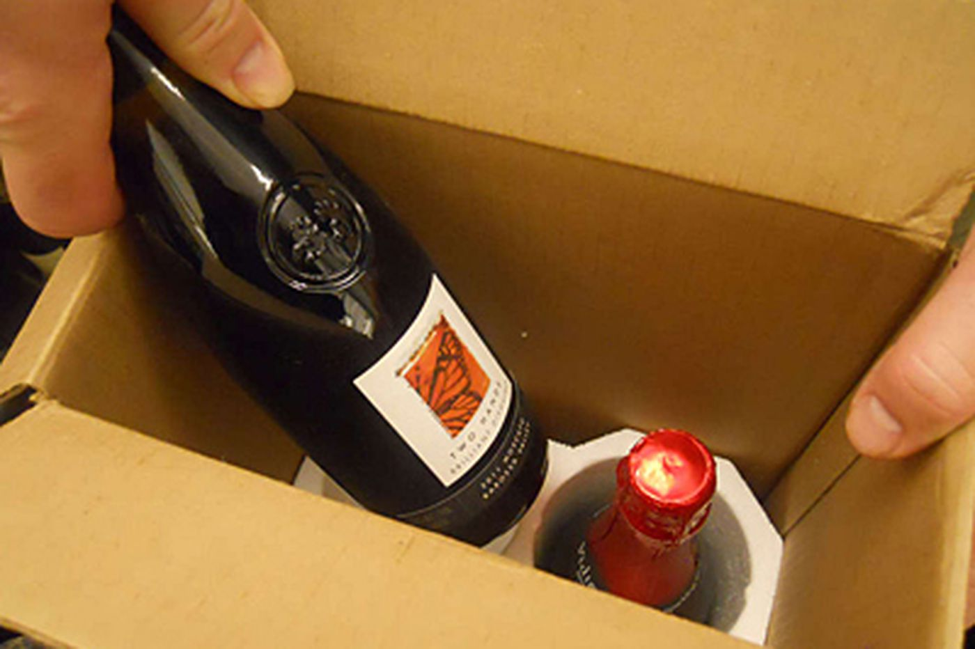 LCB tries direct home delivery of wine, spirits