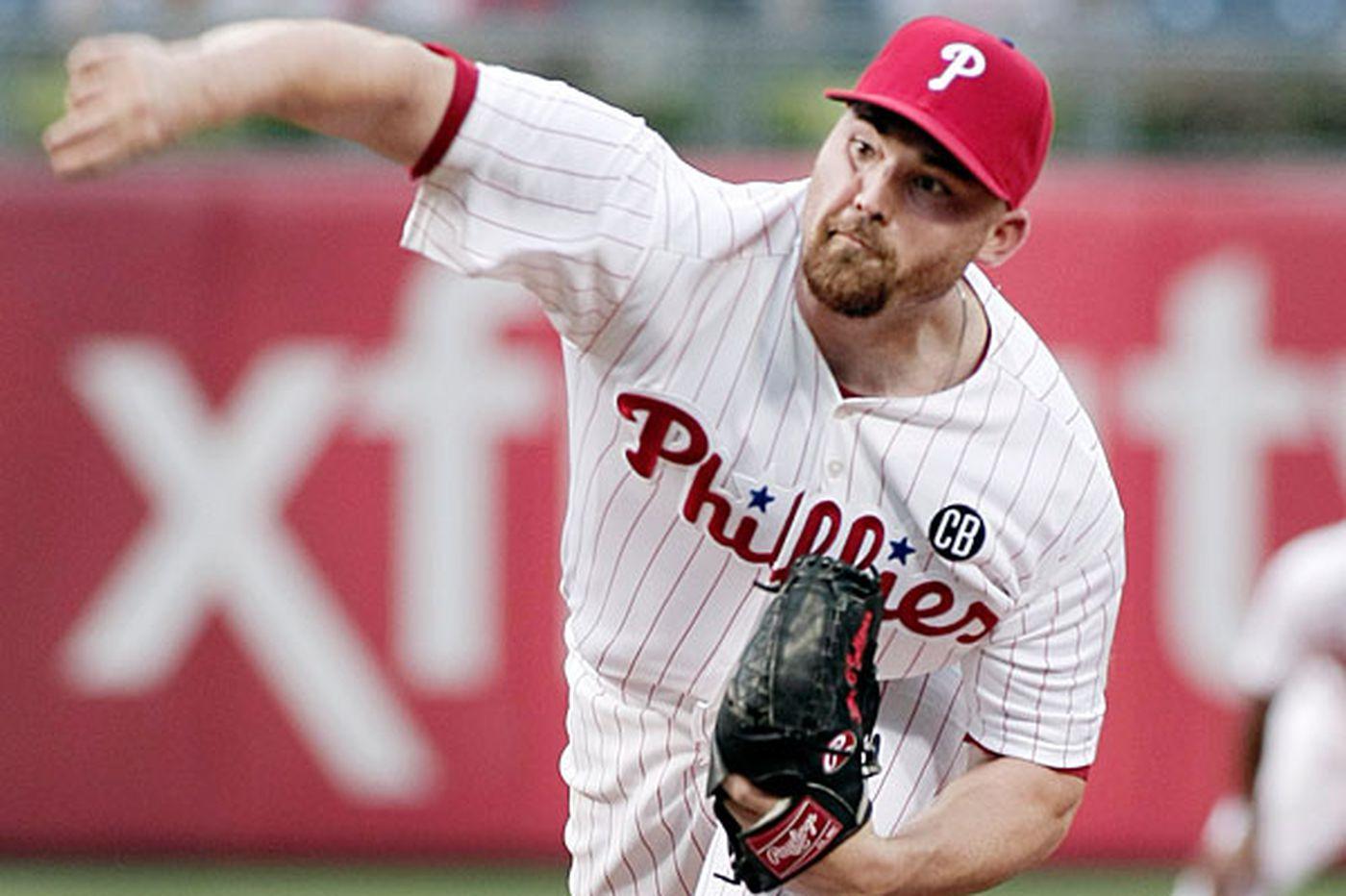 Phillies release Sean O'Sullivan