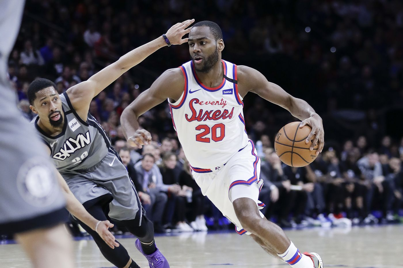 Alec Burks gives Sixers instant offense as a wing and a backup point guard