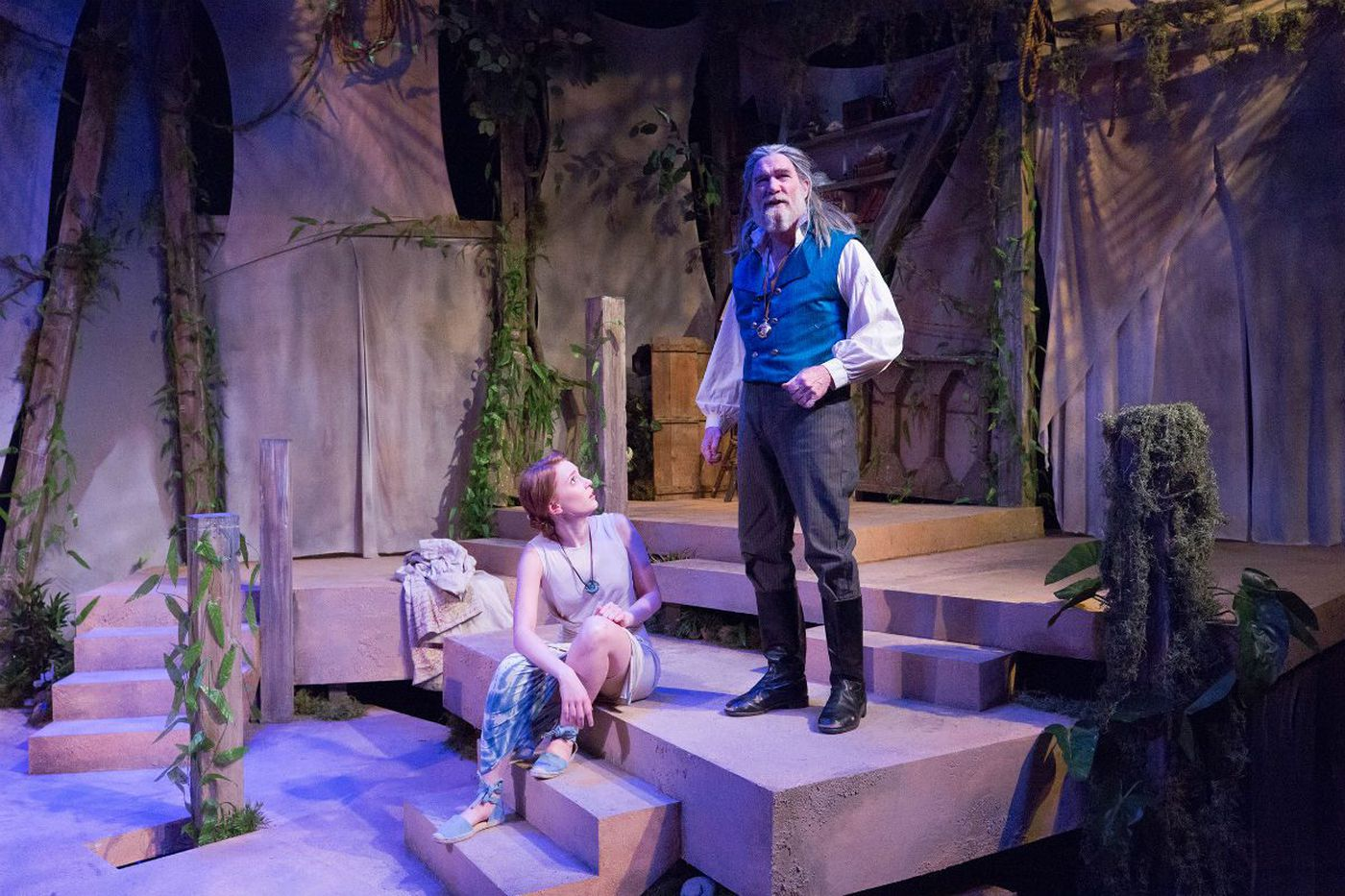 Lantern Theater's 'Tempest': A victory for kindliness, with an ache at the heart