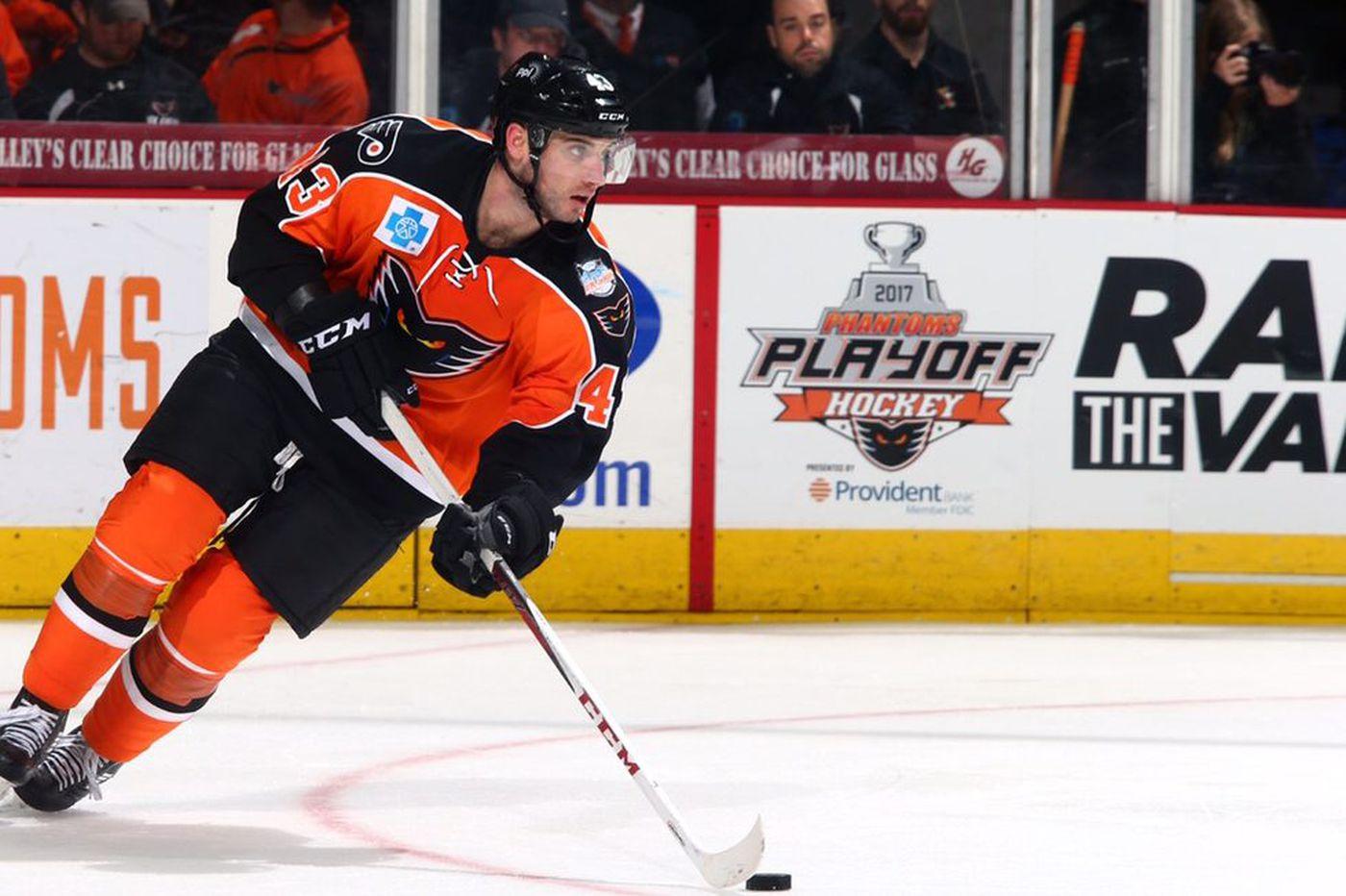 Flyers call up Alex Lyon, T.J. Brennan to replace Michal Neuvirth, Brandon Manning