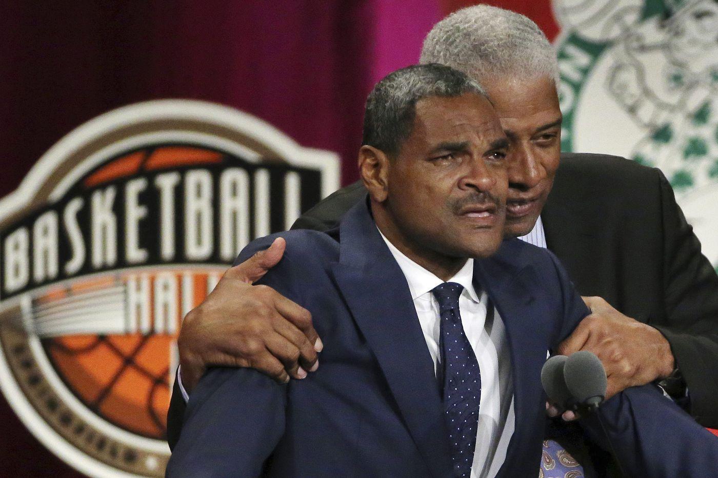 Former 76ers star Maurice Cheeks makes tearful entry to basketball hall of fame
