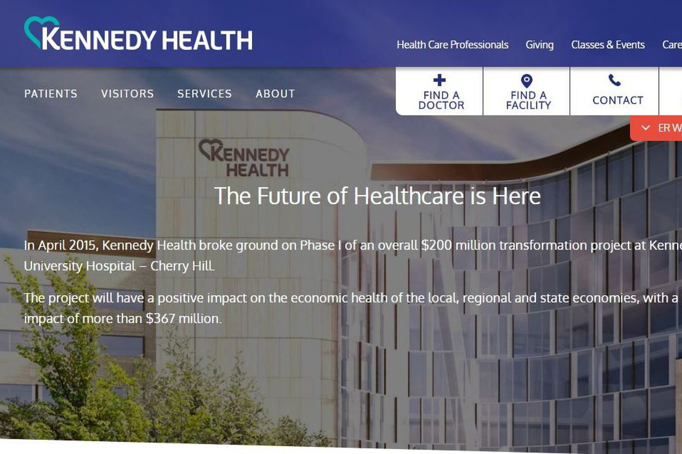 Philly's Jefferson Health completes deal with NJ's Kennedy Health