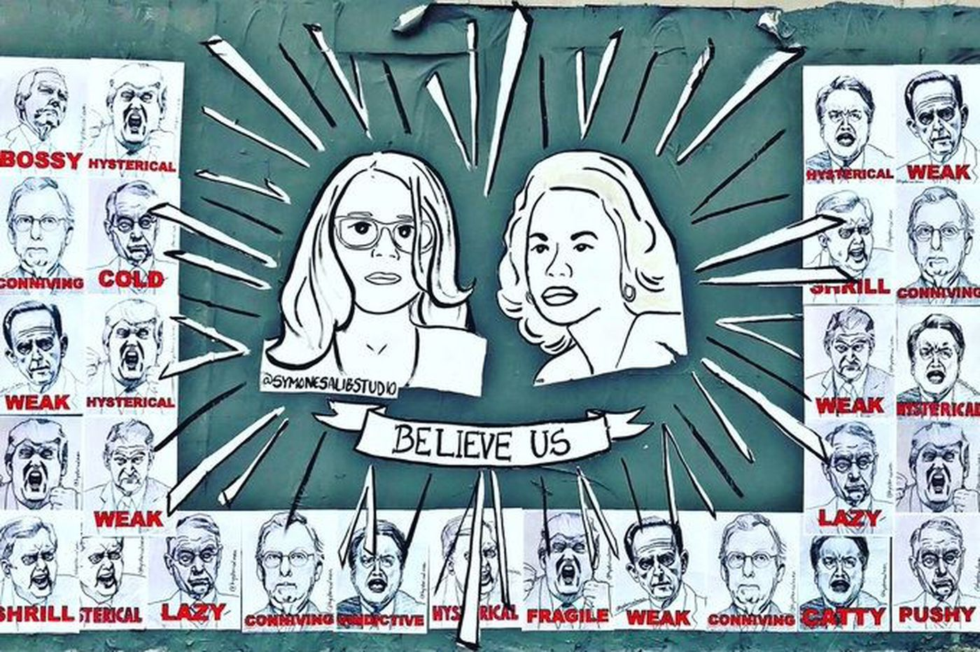 Philly's female street artists get political ahead of 2018 elections