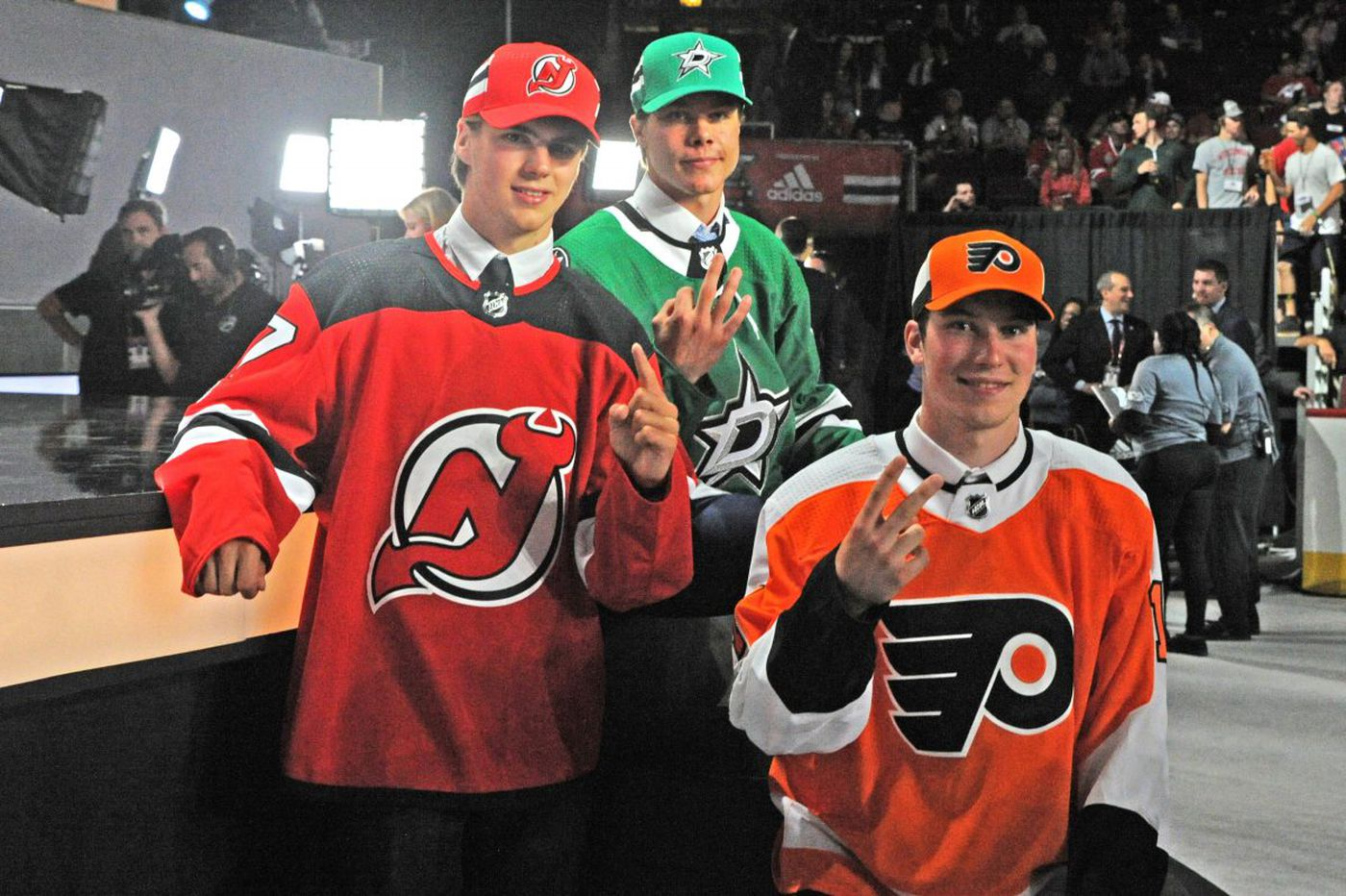 Flyers preview: Top picks Patrick, Hischier, finally face off