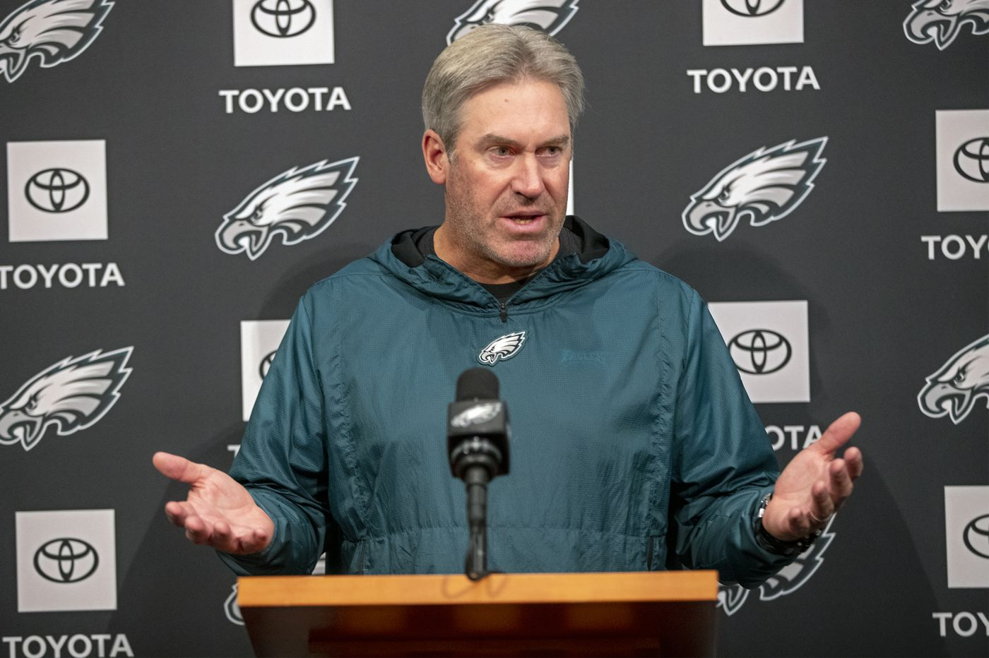Suddenly, Eagles coach Doug Pederson's player-friendly style seems slightly less than Super
