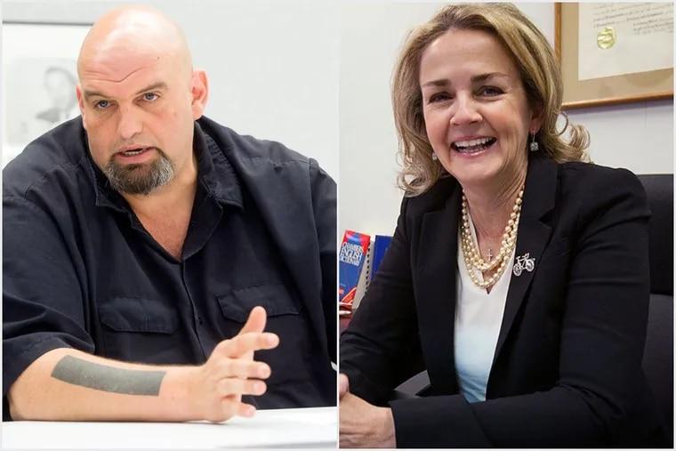 John Fetterman and Madeleine Dean could offer Dems an interesting choice.