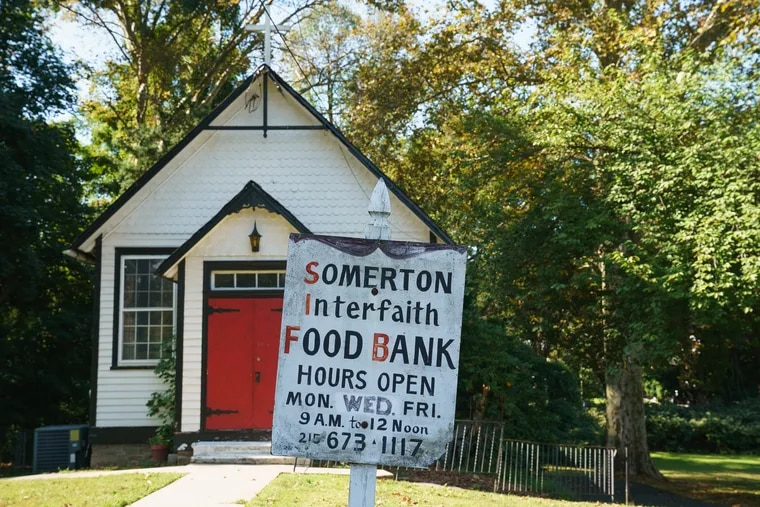 Somerton Interfaith Food Bank at St. Andrew's in-the-Field Episcopal Church has seen an increase in need, a trend in Northeast Philadelphia.