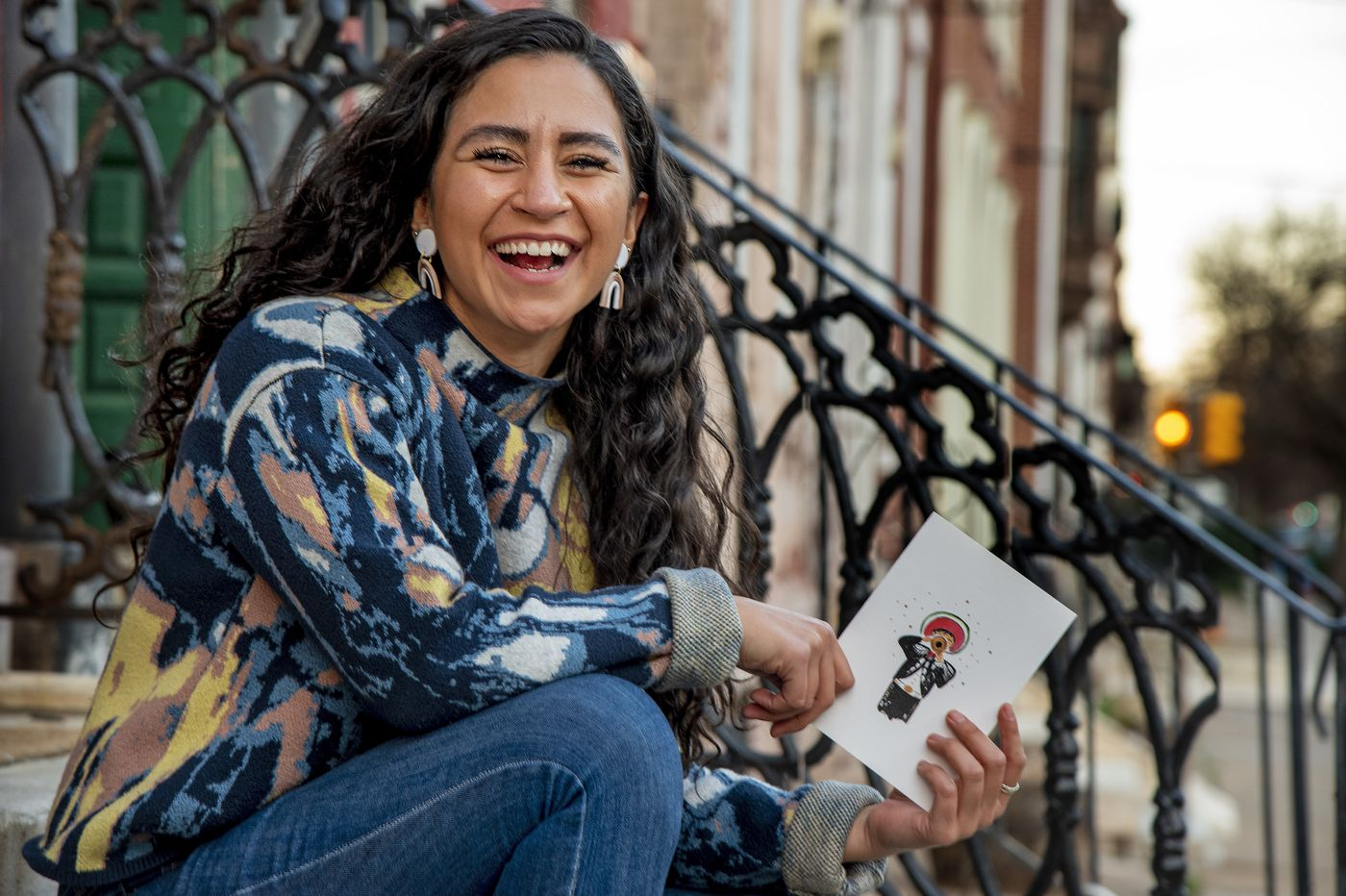 Inspired by her Mexican heritage, this entrepreneur has a greeting card start-up hoping to give back to Philly