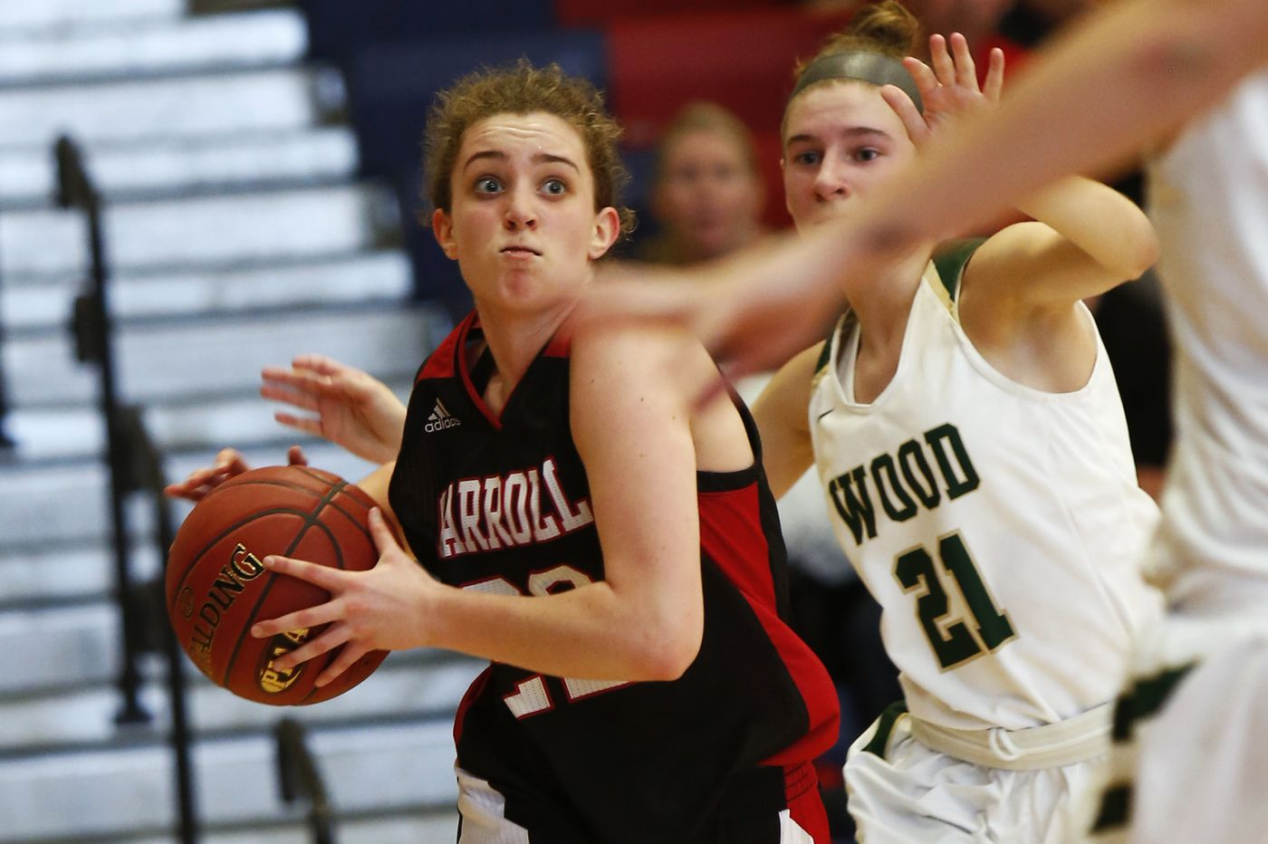 PIAA Class 5A girls' playoffs: Mary DeSimone steps up as Archbishop Carroll tops Wood and prepares for semifinals