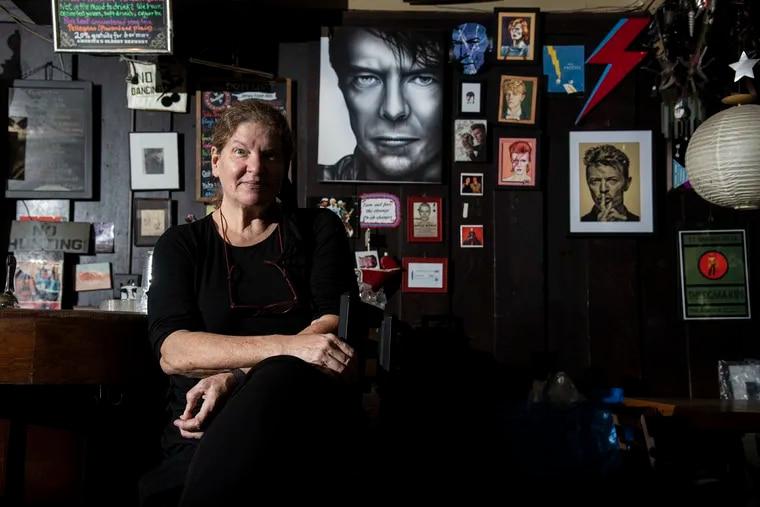 Patti Brett, the owner of Doobies Bar in Center City.